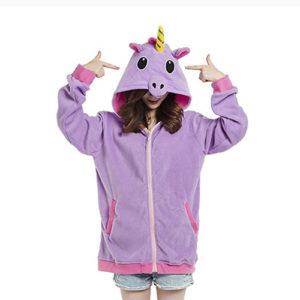 Chaquetas cosplay unicornio