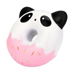 Dona de panda y animales comida kawaii