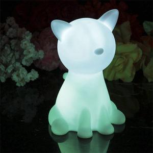 Lámpara kawaii gato de luz