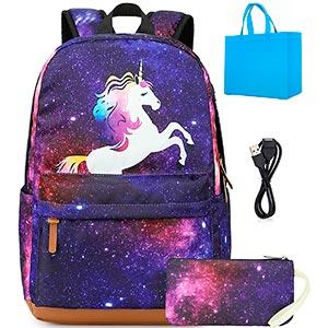 mochilas de unicornio kawaii