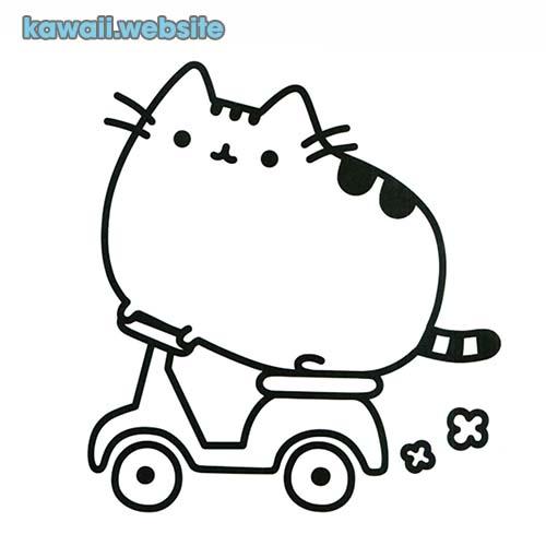 dibujos de gato para pintar