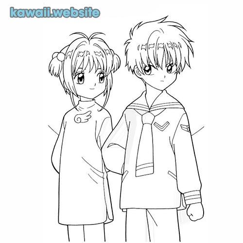 dibujos para colorear pareja