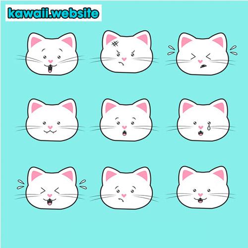 caritas-de-gatos-kawaii