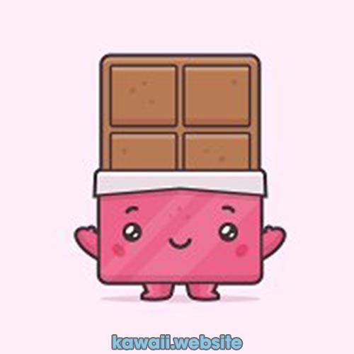 chocolatina-rosa-kawaii