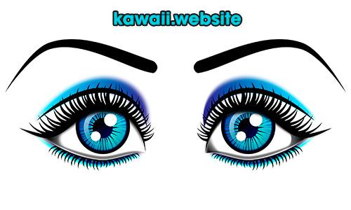 dibijos-kawaii-para-dibujar-ojos