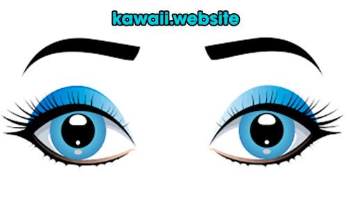 dibuja-ojos-kawaii