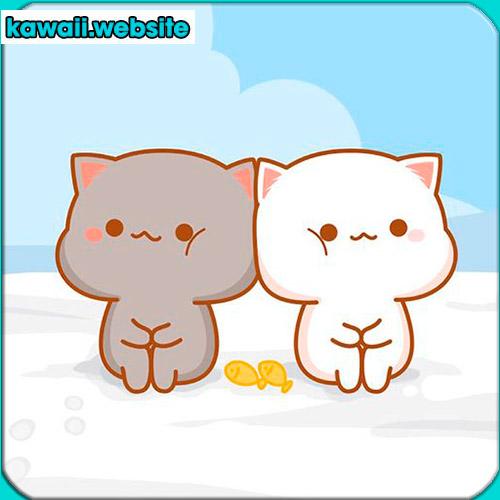 dibujo-de-gatos-kawaii