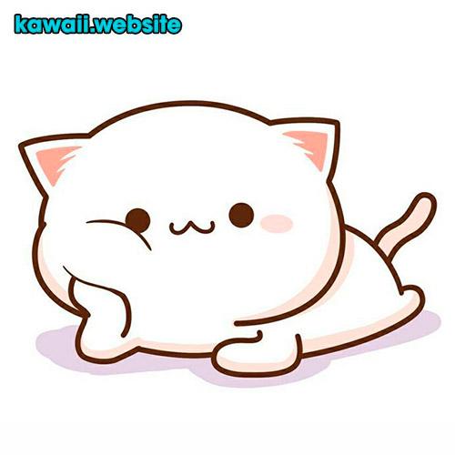 dibujo-gato-kawaii