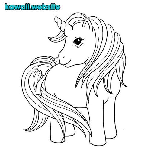 Unicornios Kawaii Imagenes Productos Y Dibujos Para Pintar