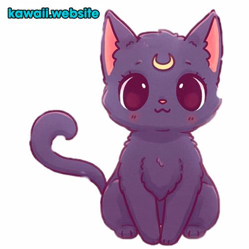 gato-anime-kawaii-sailor-moon