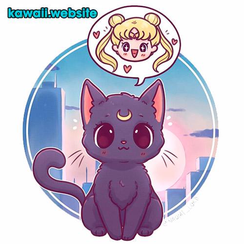 gato-anime-kawaii-sailor-moon2
