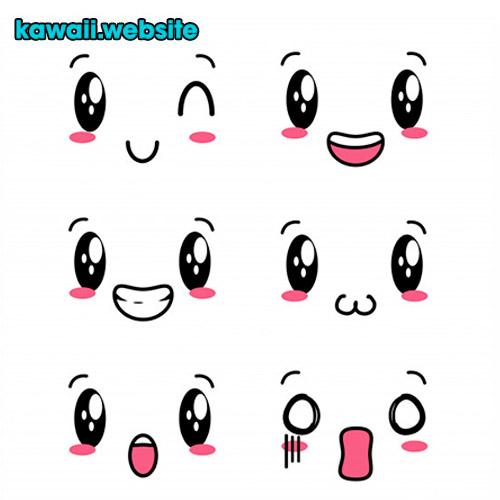 gestos-kawaii-con-rostros