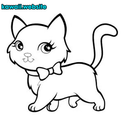 imagen-de-gato-kawaii-para-colorear