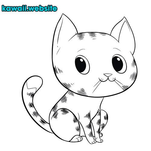 imagen-de-gato-kawaii-para-dibujar-y-pintar