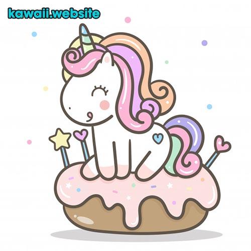 imagen-de-unicornio-y-comida-dulce-y-tierna