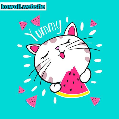 imagen-o-dibujo-de-gatos-kawaii-animado