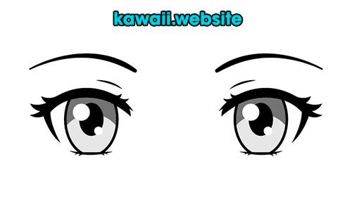 ojos-blanco-y-negro-para-dibujar