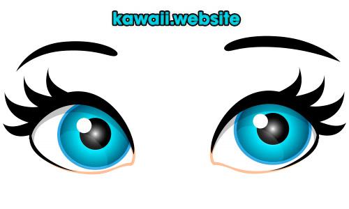ojos-kawaii-azules