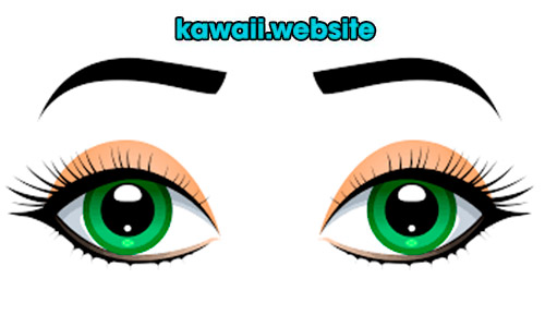 ojos-y-cejas-kawaii
