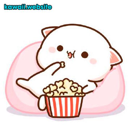 tierno-gato-comiendo-palomitas-de-maiz