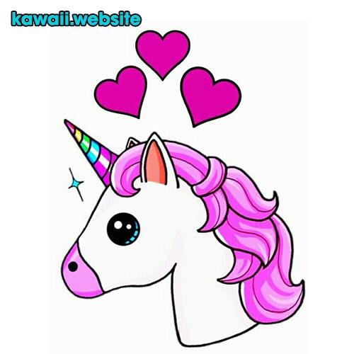 unicornio-con-corazones
